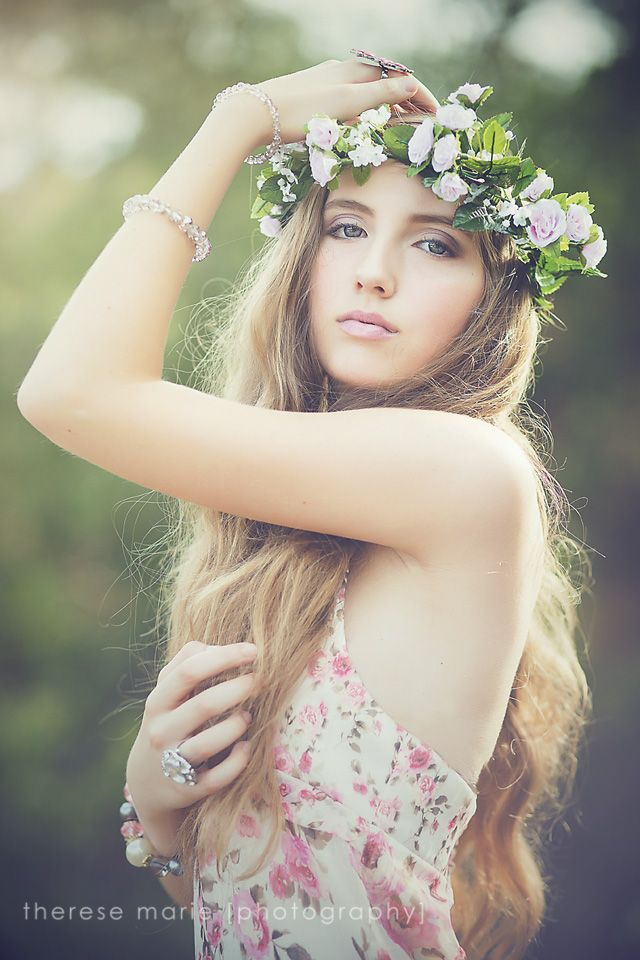 443 best images about flowers in her hair on pinterest for Photoshoot themes for models