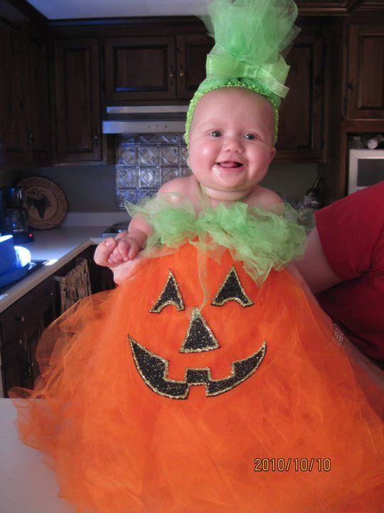 Dollar Store Crafts » Blog Archive » Cute Little Pumpkin Costume