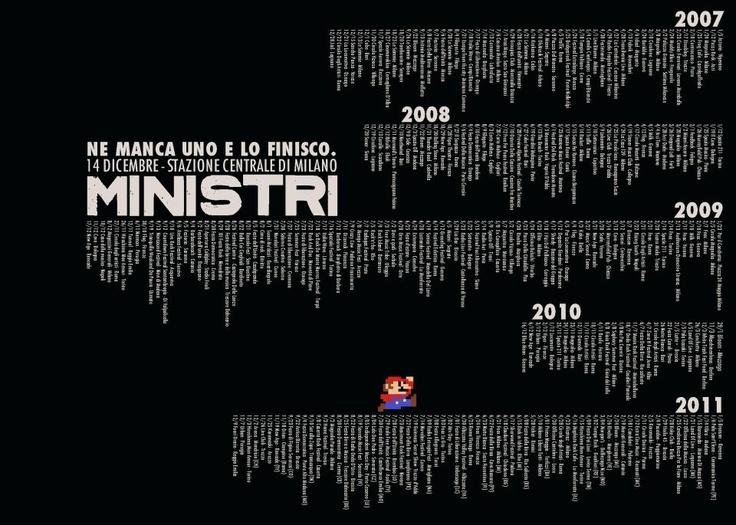 live show dei Ministri.