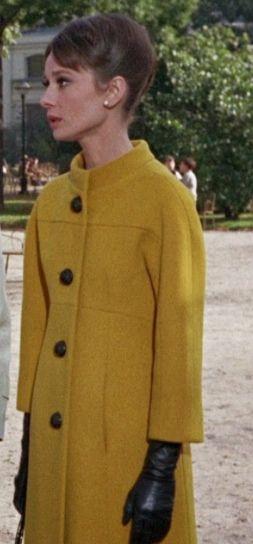 Hubert de Givenchy designed Audrey Hepburn's clothing in Charade. 1963.