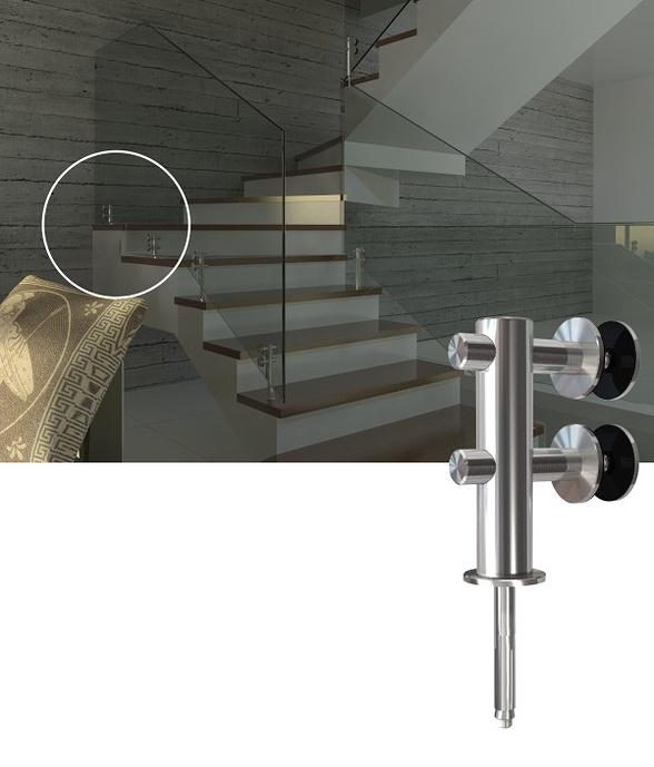 Antares Vidros | Guarda Corpo Inox Esingle