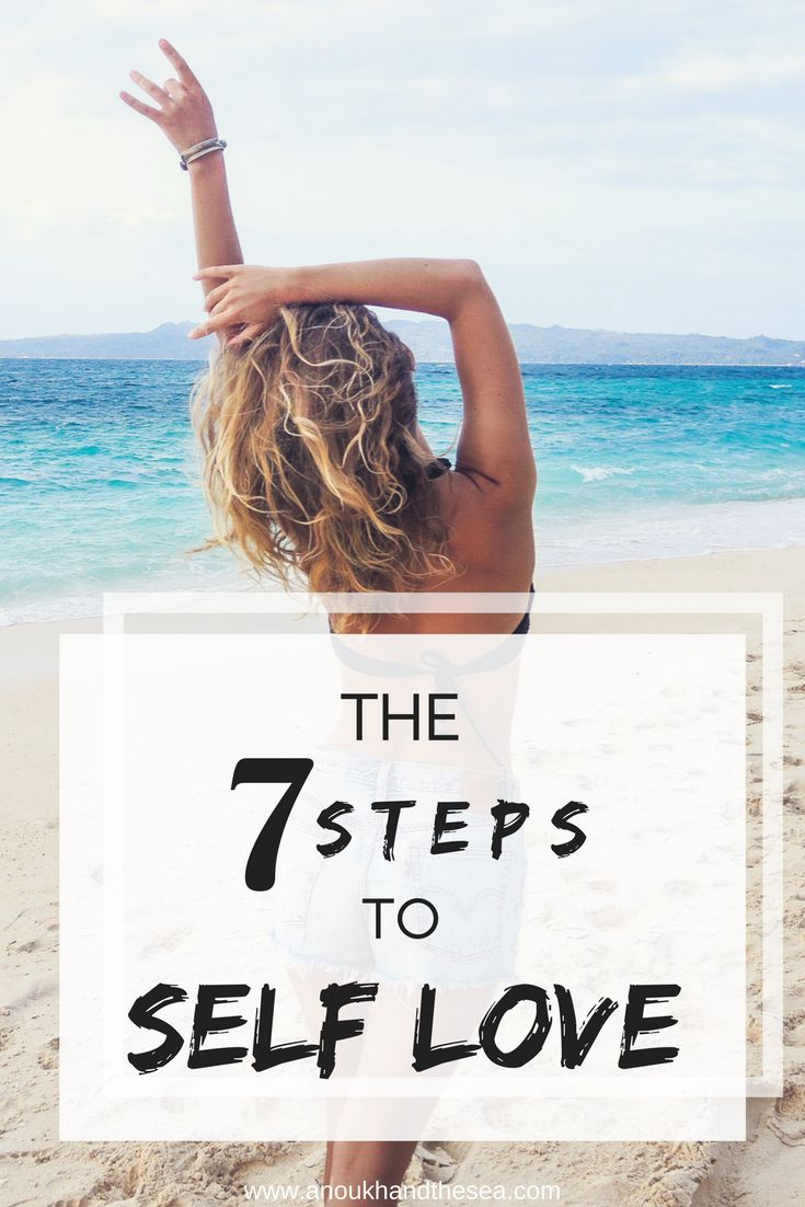 The 7 Steps to Self Love.. Learn to love yourself more everyday by sticking to these tips. selflove, love, selfhelp, selfcare, tips