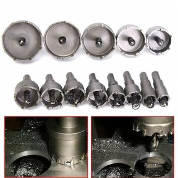 13pcs 16-53mm Hole Saw Drill Bits Hole Saw Cutter Power Tools Sale - Banggood.com