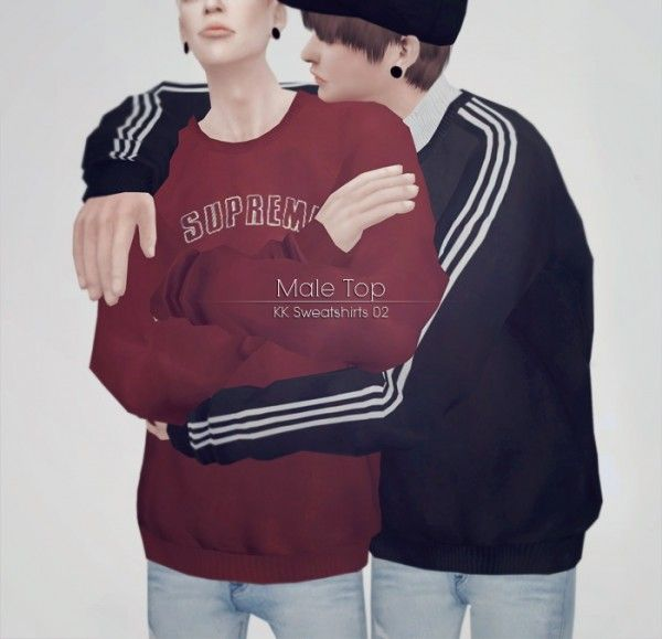 kk-sims: Sweatshirts 02 • Sims 4 Downloads