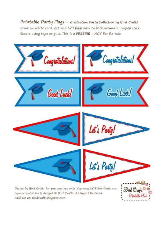 graduation printable templates