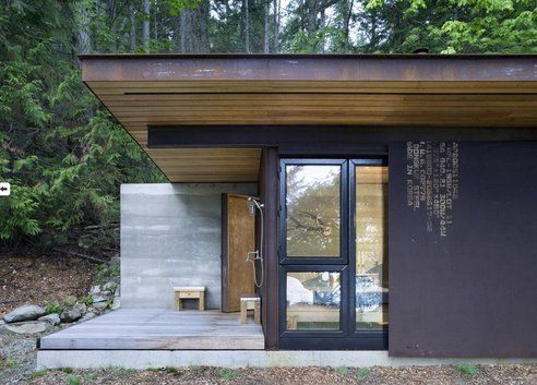 Olson Kundig's One-Room Cabin Was Resilient Before the Word Became Fashionable : TreeHugger