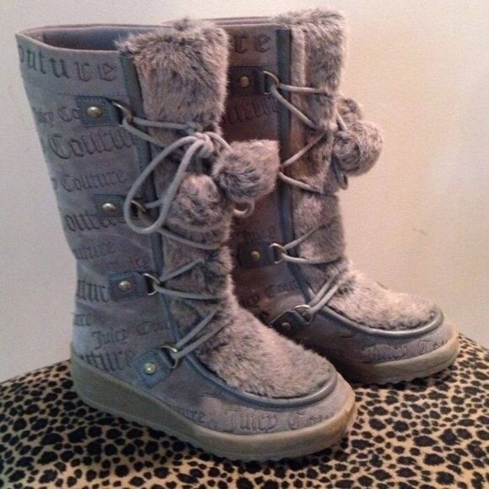 My Juicy Couture Women's Waterproof Logo Pom-Pom Igloo Wedge Winter Boots  by Juicy Couture! Size 4.0 for £70.00. Check it out: http://www.vinted.co.uk/womens-shoes/boots/6317442-juicy-couture-womens-waterproof-logo-pom-pom-igloo-wedge-winter-boots.