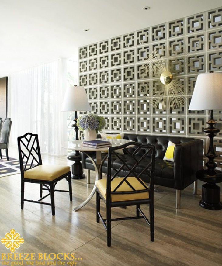 57 best breeze block love images on pinterest interior - Interior cinder block wall ideas ...