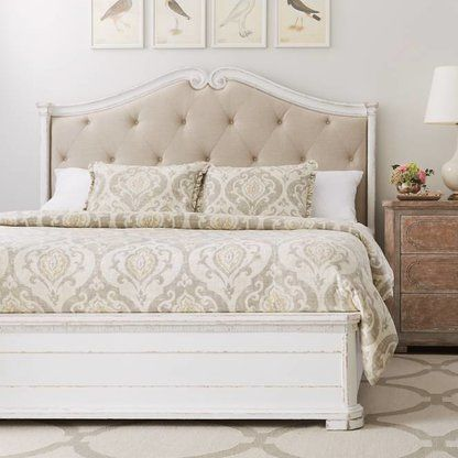 Luxury Beds Bed Frames Perigold Upholstered Panel Bed Panel