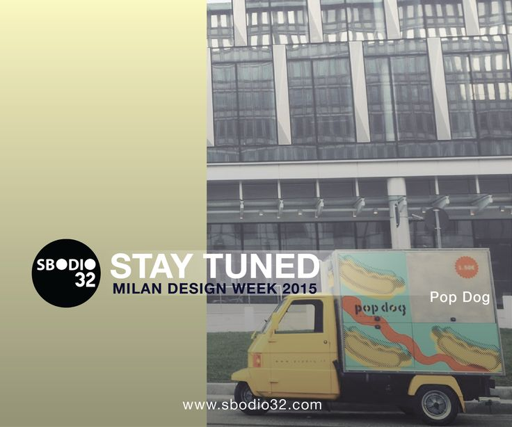 Meet the cuisine of #PopDog Feed your curiosity..  #Sbodio32 - #Fuori Salone at #VenturaDistrict  #Lambrate365