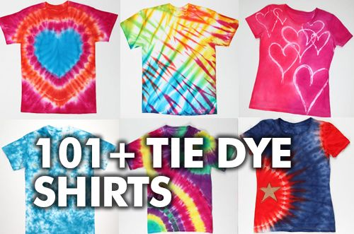 Awesome Tie Dye Shirt DIYs
