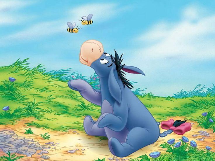 Winnie de Pooh - Gratis bakgrunnsbilder til mobilen: http://wallpapic-no.com/tegneserier-og-fantasy/winnie-de-pooh/wallpaper-28104