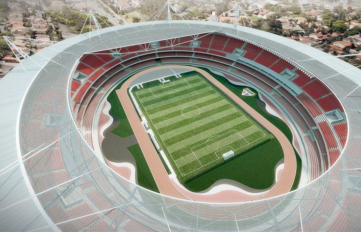 São Paulo Futebol Clube SPFC - Projeto Estádio do Morumbi