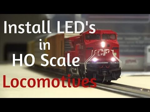 HOW TO Install LED Lights in ANY HO Scale Locomotive - YouTube & 25+ unique Ho scale ideas on Pinterest | Model trains ho scale Ho ... azcodes.com
