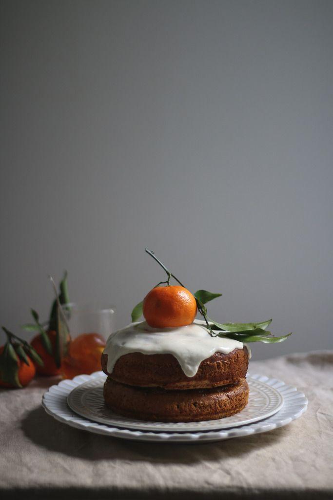 butternut squash cake with citrus sour cream icing