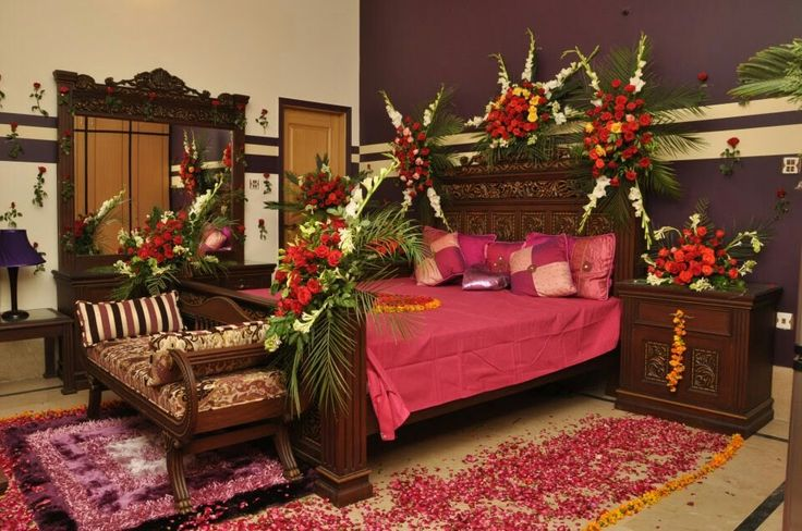Great Wedding Room Decoration Ideas In Pakistan For Bridal Bedroom Images