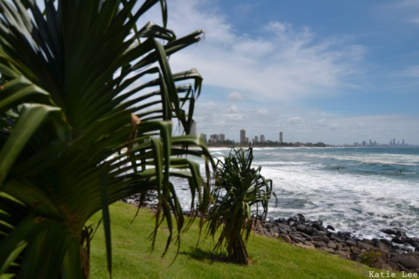 Burleigh Heads to Surfers Paradise.   Trail of Sunshine.