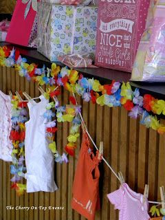 Luau Baby Shower On The Cherry On Top Events Party Blog
