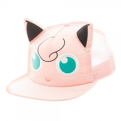 (affiliate link) Pokemon Jigglypuff Big Face Trucker Hat