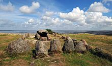 Megalithic grave Harhoog in Keitum, Sylt, Germany