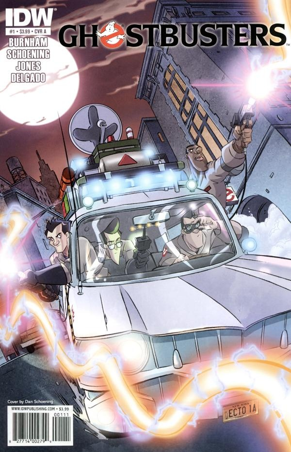 Ghostbusters #1 - The Ghostbusters are back and ready to believe you again! Set after the events of Ghostbusters 2, Ray is having foreboding dreams while Peter and Winston run into a familiar old spud. A perfect blend of the movies and the animated series, IDW's Ghostbusters is full of all the humor and paranormal activities you've come to expect from the Ghostbusters!