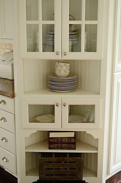 128 Best Corner Hutch Images On Pinterest Corner Cabinets Corner