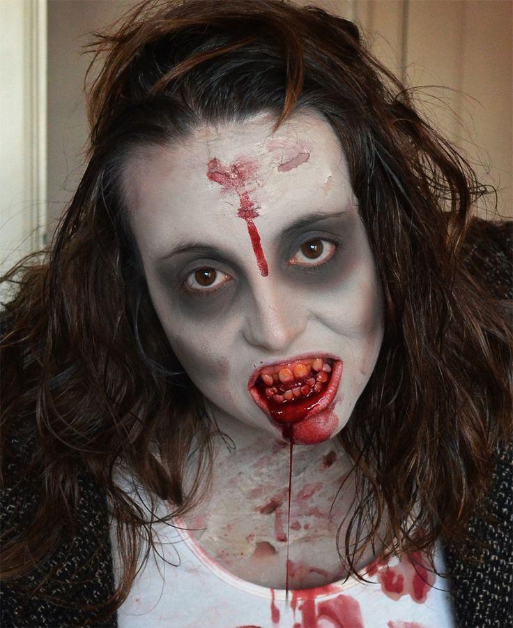 simple zombie makeup   Easy Zombie Makeup Tips