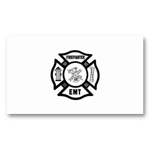 121 best firefighter emt images on pinterest fire fighters firefighter emt business card colourmoves