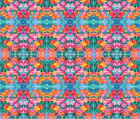 summer_tulips fabric by vinkeli on Spoonflower - custom fabric