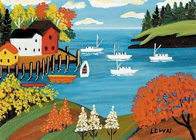Not Standing Still's Disease: Maud Lewis: Artist and Juvenile ...