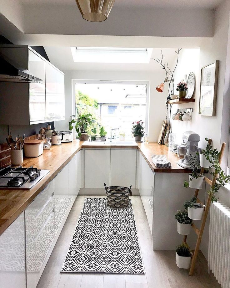 Home Interior Design Ideas For Kitchen: 11 Beautiful Galley Kitchen Ideas