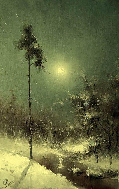 Russian Artist Igor Medvedev: Moon Sonata
