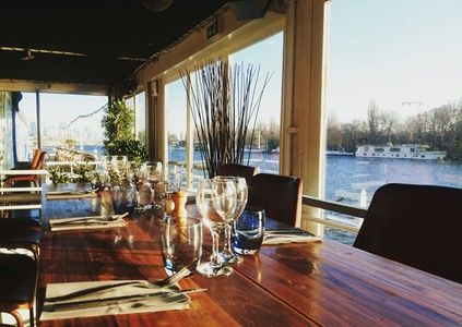Repas gourmand avec vin pour 2 personnes - Restaurant Aqua caffé à Suresnes