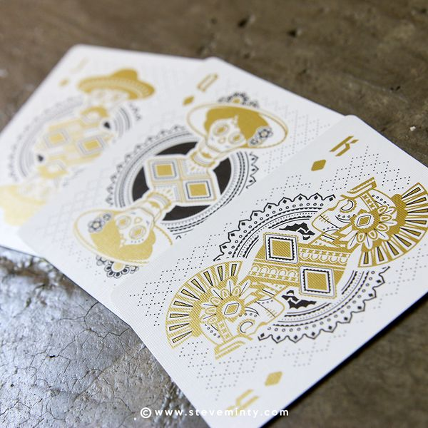 Muertos is an original set of American playing cards designed by Steve Minty and…