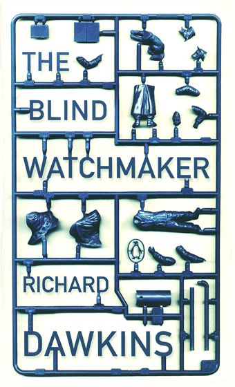 Richard Dawkins. Designed by Jamie KeenanWorth Reading, Future Bookshelf, Jamie Keenan, Book Worth, Blinds Watchmaker, Book Covers, Book Design, Pretty Covers, Richard Dawkins