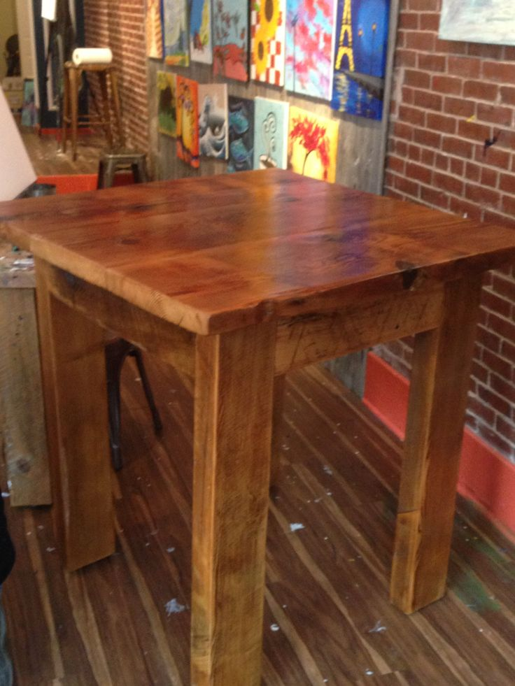 1000 ideas about high top tables on pinterest outdoor furniture plans rustic farm table and. Black Bedroom Furniture Sets. Home Design Ideas