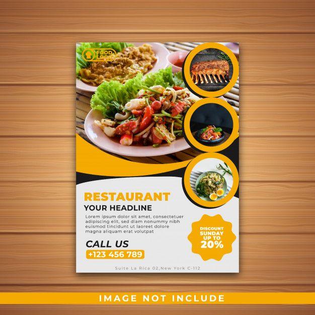 Restaurant Flyer Restaurant Flyer Restaurant Poster Shop