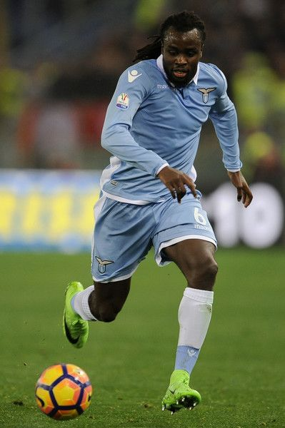 Jordan Lukaku of SS Lazio during the TIM Cup match between SS Lazio and AS Roma at Olimpico Stadium on March 1, 2017 in Rome, Italy.