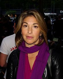 Naomi Klein (born May 8, 1970) is a Canadian author and social activist known for her political analyses and criticism of corporate globalization