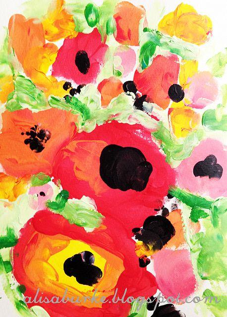 Alisa Burke poppies