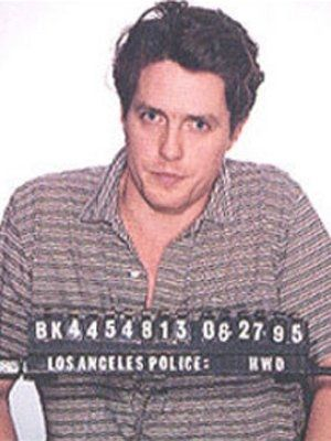 Hugh Grant (1995) | Celebrity Mugshots | Comcast.net