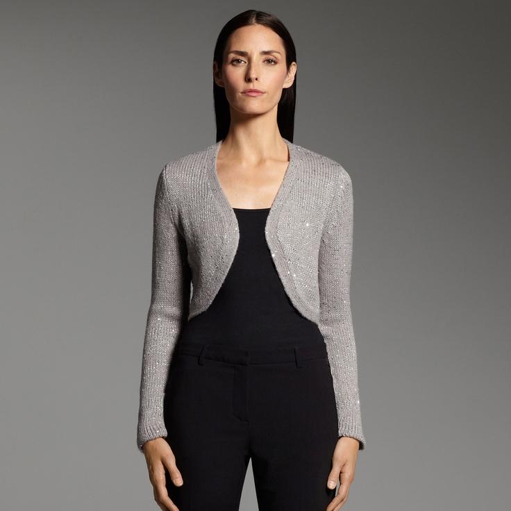 Narciso rodriguez for designation sequin shrug kohls i love clothes