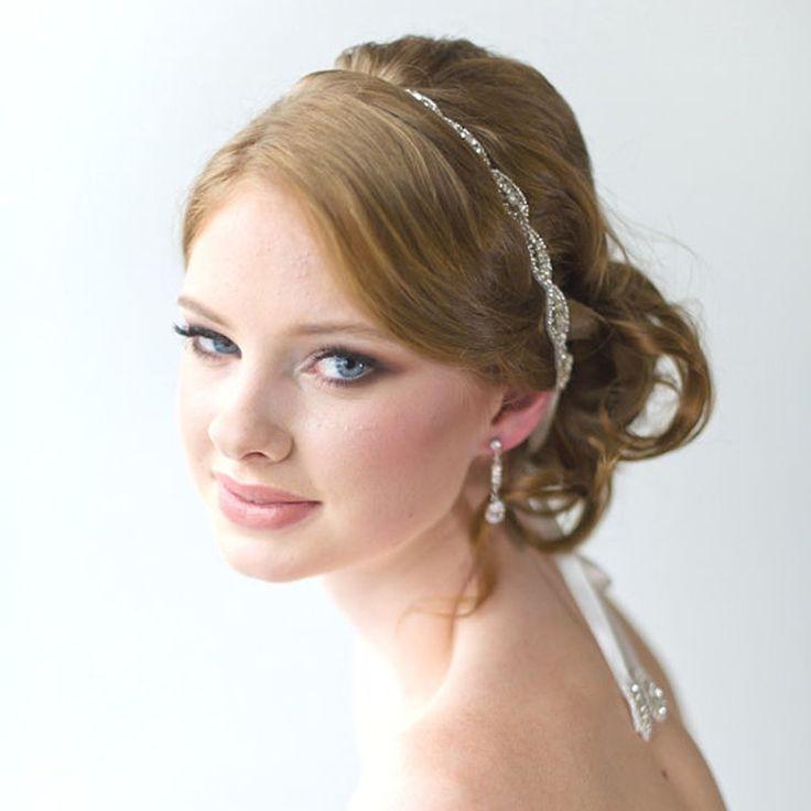 New Women Wedding Hair Accessory Beaded Headband Fashion Bridal Headband Crystal Ribbon Headband 1PC-in Hair Jewelry from Jewelry on Aliexpress.com | Alibaba Group