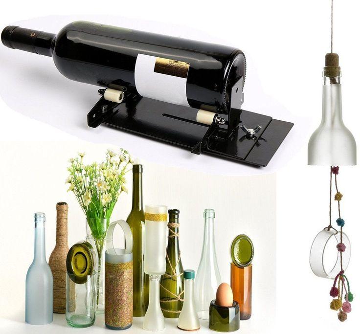 Las 25 mejores ideas sobre cortador de vidrio en - Cortar botella cristal ...