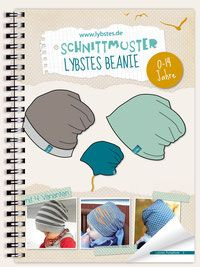 Baby Wendebeanie - Kostenloses Schnittmuster - Freebook - Lybstes.