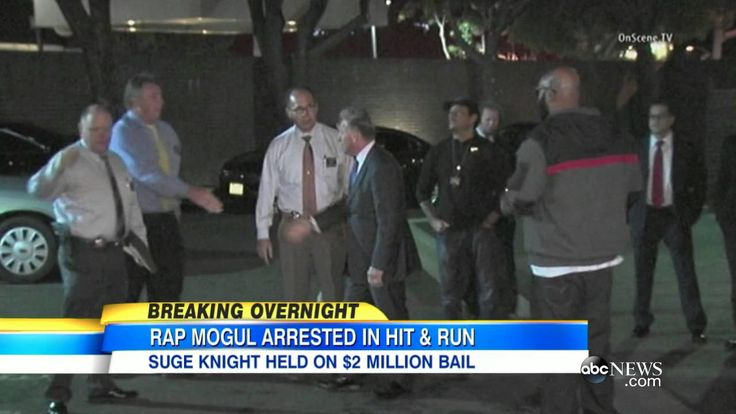 Suge Knight Arrested For Hit & Run, Facing Homicide Charges