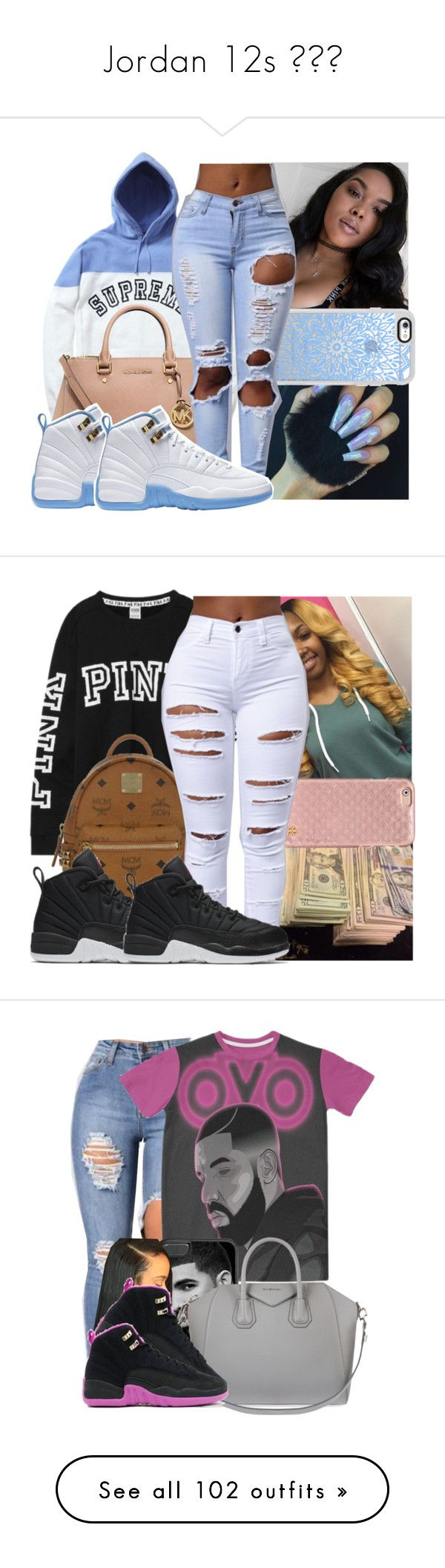 Jordan 12s  by prinxcess-adri ❤ liked on Polyvore featuring MICHAEL Michael Kors, Sache, Casetify, Victorias Secret, MCM, Tory Burch, NIKE, Givenchy, Alexander Wang and Yves Saint Laurent