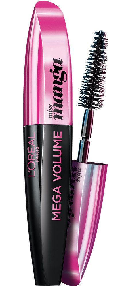 L'Oréal Miss Manga Mascara = makes your lashes look so full and long!