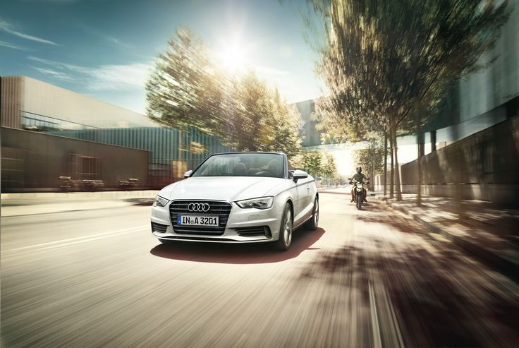 Moving #Audi #A3 Convertible