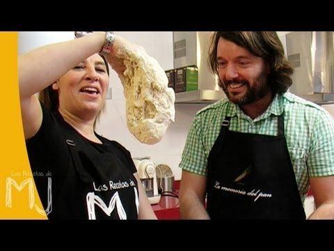 Hoy cocino con... | PAN RÚSTICO CON SEMILLAS (FÁCIL, SIN AMASADO) - YouTube